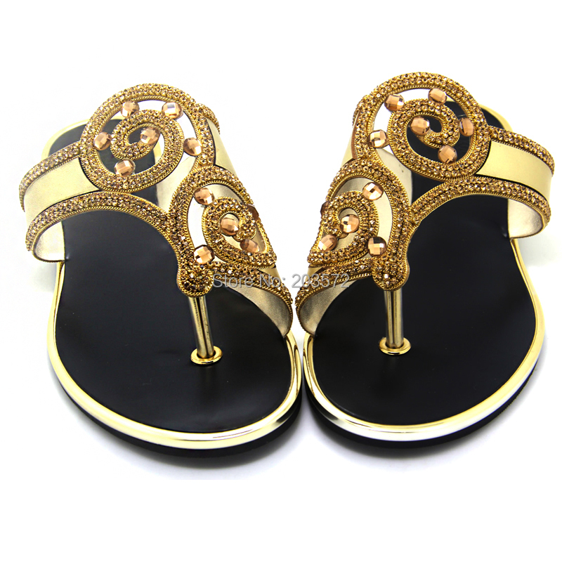 88a02a523df2 Pakistan Brand Flip Flops 2015 Rhinestone Women Flat Sandal Gold And Silver  Woman Summer Slippers Ladies Flip Flop Sandals Shoes