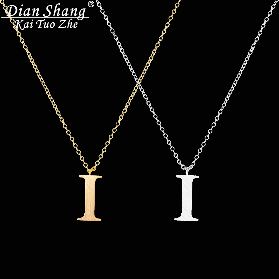 xo and initials pin the a comprised chain initial of chains delicate petite necklace necklaces is x