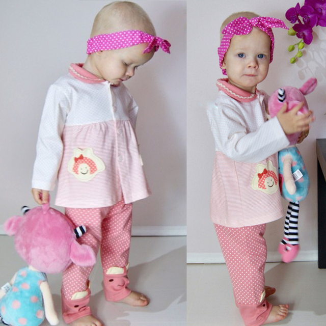 Newborn Baby girl clothes cotton fall infant girl winter clothes christmas set baby girl outfit baby baby tracksuit princess Set 1