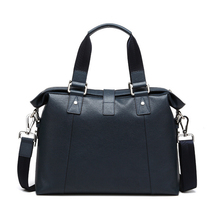 Luxury Men Genuine Leather Bags Brand Cowhide Briefcase For Men Handbags Brand Designer Leather Laptop Bag Business Briefcase