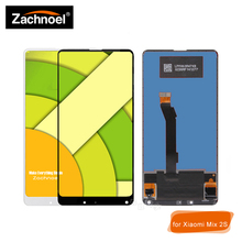 купить 5.99'' for Xiaomi Mi Mix 2S LCD Display with Touch Screen Digitizer Glass Panel Assembly Complete White Black Replacement Parts по цене 2538.16 рублей