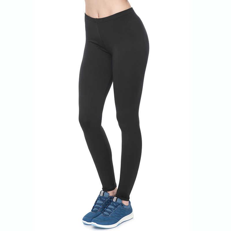 587d9e84034 Moda mujer Sexy brillante Leggings arriba aptitud elástico Leggins Plus  tamaño Casual deportivo duradero pantalones de