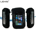 "Lexin 5"" Black Oil Fuel Tank Bag Magnetic Motorcycle Motorbike Caddle Bag Case Protector for Iphone5 5S Samsung Glaxy S3 MTB-02"