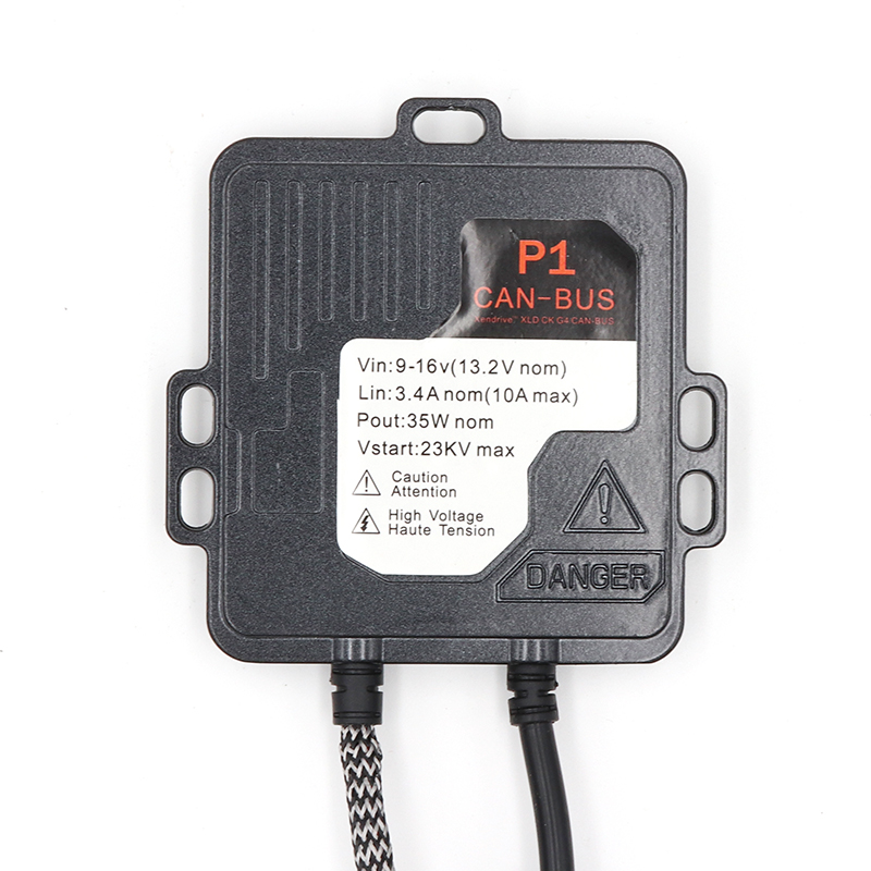 Niscarda <font><b>35W</b></font> AC <font><b>HID</b></font> Decoder Canbus Xenon Ballast Error Free For Car Auto Xenon Light Bulb Lamps H1 <font><b>H4</b></font> H7 H8 H11 9004 9005 image