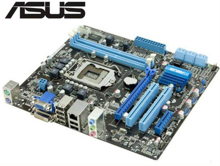 ASUS P7H55-M PLUS motherboard LGA 1156 DDR3 board 8GB H55 Desktop motherboard Free shippingASUS P7H55-M PLUS motherboard LGA 1156 DDR3 board 8GB H55 Desktop motherboard Free shipping