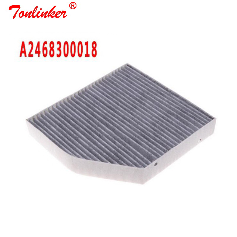 Image 2 - Cabin Filter For Mercedes benz B CLASS W246 W242 B160 B180 B200 B220 B250 B250e Year 2012 13 14 2018 Model Filter OE A2468300018-in Cabin Filter from Automobiles & Motorcycles