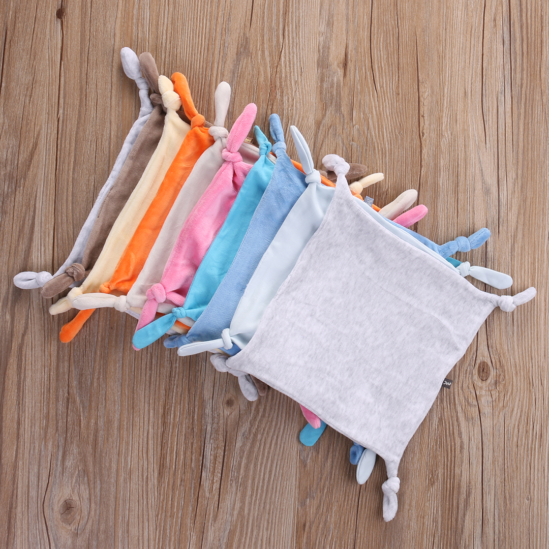 Fashion Cute Infant Baby Girl Boy Blanket Comforter Comfort Gift Hand Face Cartoon Towels Soft