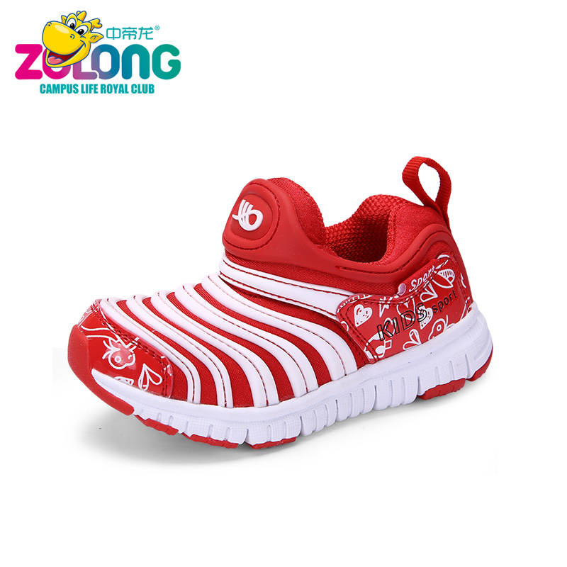 Kids Girls Running Shoes New Footwear Laceless Spring Sneakers School Prewalkers Brand Designer Feminino Outdoor Sport Trainers