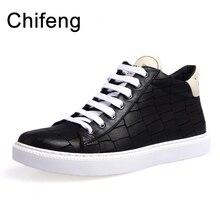 men's shoes men vulcanized shoe sneakers man genuine leather mens fashion casual flats black
