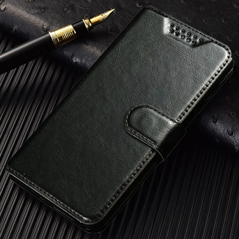 Flip Leather Phone Case Cover for <font><b>Micromax</b></font> Q4151 <font><b>Q402</b></font> Plus Q357 Q354 Q3001 Wallet Fundas Coque Holster Cases image