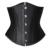 26 entrenador cintura corsés steampunk corsé deshuesado acero negro delgado peso pérdida double boned corsés y bustier ropa gótica