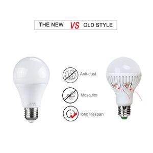 Image 5 - Ampoule LED 27 Light Bulb With PIR Motion Sensor 10W 15W 20W 220V Smart E27 Radar Lamp 6500K A65 A70 A80
