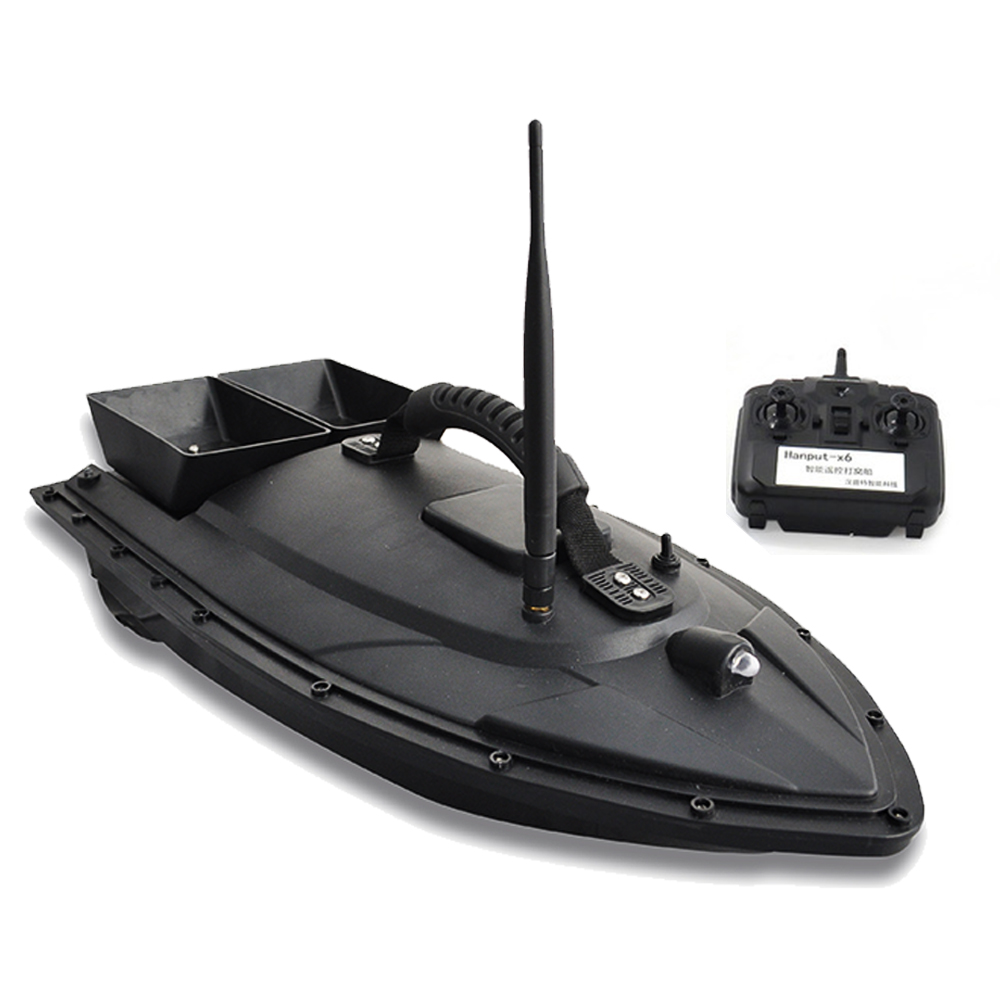 Flytec 2011-5 Fish Boat Remote Control Fishing Tool Smart RC Bait Boat Toy Fish Finder Dual Motor Boat Ship Speedboat RC Toys mini fast electric fishing bait boat 300m remote control 500g lure fish finder feeder boat usb rechargeable 8hours 9600mah