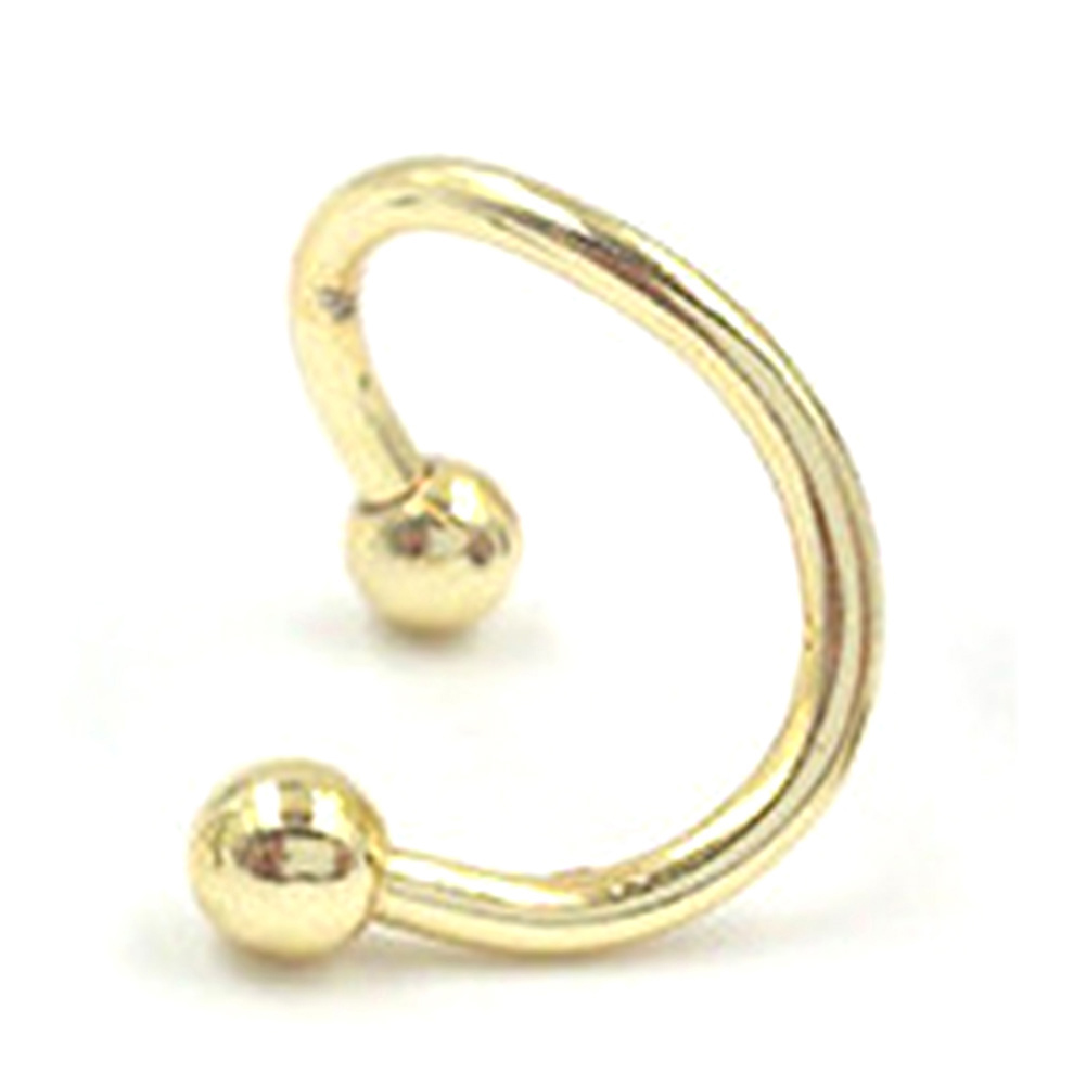 1pc Stainless Steel Lip Nail MUTI- Colors Nose Ring Ear Bone Nail Jewelry For Women Personality Body Jewelry