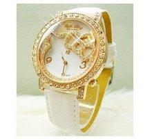 Fashion Women Crystal Cartoon Watch Hello Kitty Watch Girls Kid Casual Quartz Wristwatches Reloj kt002