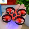 Mini Bolsillo Drone Quadcopter 2.4 GHz 6-Axis Gyro Headless Modo Una Clave regreso kids toys vs syma rc helicóptero mini drone dron h31