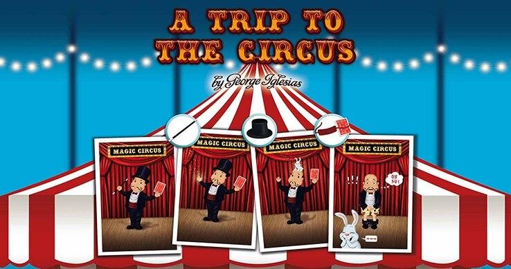 UMA Viagem para O Circo por George Iglesias & Twister Magia truques de mágica