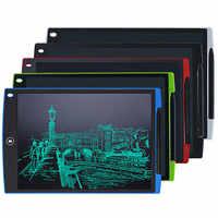 12 polegadas ultra-fino lcd escrita tablet digital desenho tablet brinquedos almofadas de escrita gráfica placa de tablet eletrônico com bateria