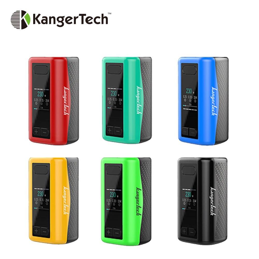 100% d'origine Kangertech IKEN TC Box MOD 230 W batterie intégrée 5100 mAh & Anti-vibration armée-grade TFT écran e-cig mod 230 W