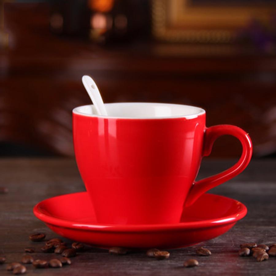 European Espresso Cappuccino Cups Chinese Bone Porcelain China Tea Elegant Coffee Cup Kahve Fincanlar British Gifts 50N5032