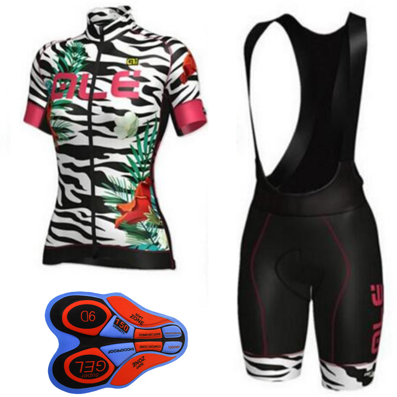 ALE 2018 cycling jersey bike clothes bib shorts set MTB bicycle wear ropa ciclismo high quality summer women bike clothing