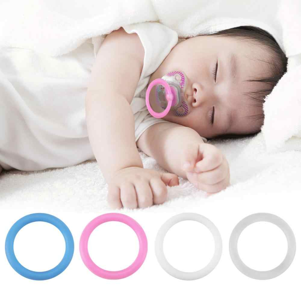 5pcs//Set O-Rings Silicone Baby Dummy Pacifier Chain Clips MAM Adapter Holder jb