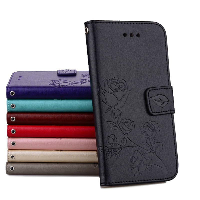 Konfurer Magnetic Flip Luxury Leather Phone Case For Samsung Galaxy A5 2017 A520 Light Weight Ultra Thin Cover Case Holster Bag