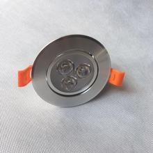 2019 Hot Sale Luces Led Light Ac220v110v 100pc/lot Downlights Energy Saving With Excellent Heatsink High Brightness Epistar