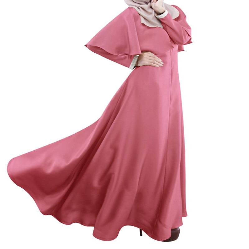 Bubble Tea 2017 muslimanske žene haljina nedjelja najbolje haljine s - Nacionalna odjeća - Foto 5