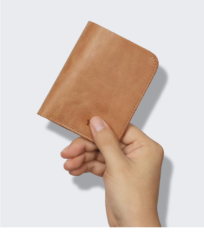 genuine leather men wallets  (2)