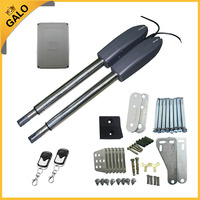 Galo Auto Electric Gates Electric Swing Gate Opener With 2 Arm Swing Gate Motor With Remote