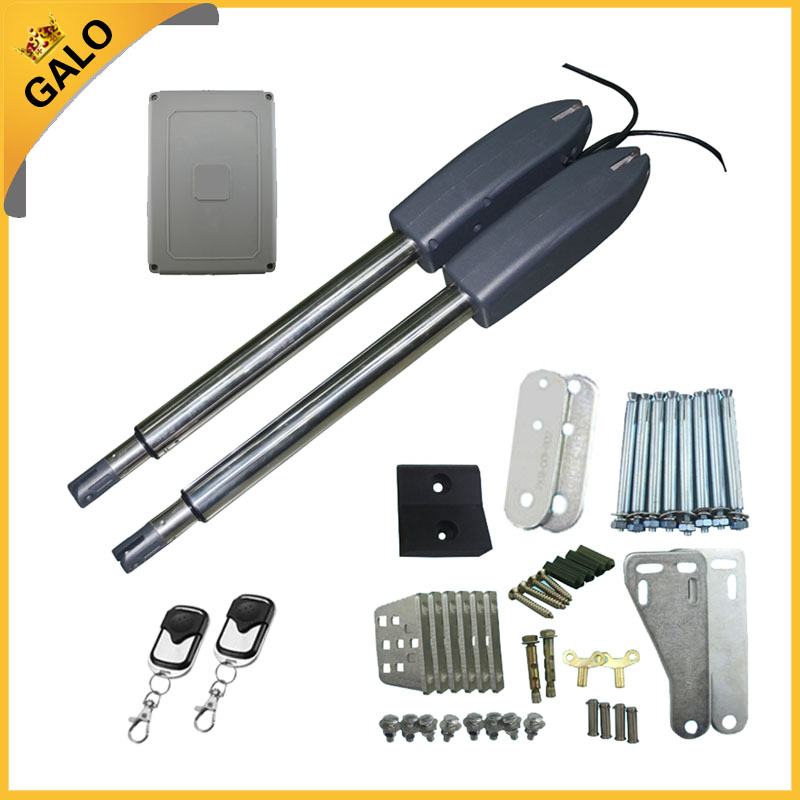 Galo Auto Electric gates / Electric Swing Gate Opener with 2 arm, Swing Gate Motor With Remote Control or a pair of photocell