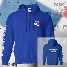 Panama City Panamanian mens hoodies and sweatshirt casual polo sweat suit streetwear tracksuit nations fleece zipper flag Pan Pa