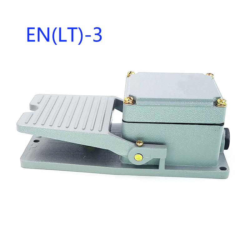 AC 250V 10A 1NO 1NC Momentary Industrial Power Foot Pedal Switch for Motor