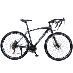 KUBEEN 400C шоссейный велосипед Полный велосипедный велосипед BICICLETTA дорожный велосипед 21 скоростной велосипед
