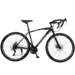 KUBEEN 400C Bicicleta de carretera Bicicleta completa Bicicleta de carretera 21 velocidad Bicicleta