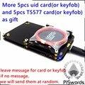 2016 últimas desarrollar proxmark3 traje 3 Kits 3.0 proxmark NFC lector RFID escritor SDK T5577 UID cambiable tarjeta copiadora clon grieta