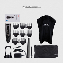 RIWA Professional Hair Clipper Hair Cutting Machine Shaving Machine Electric Beard Hair Trimmer Trimmers Men Clippers Haircut 50
