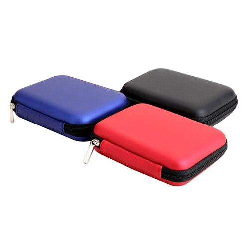 New 5 '' Cable HDD Hard Disk Pouch Điện Cầm Tay Tay Carry Bag Trường Hợp Che Bảo Vệ 5JSJ 7BY8