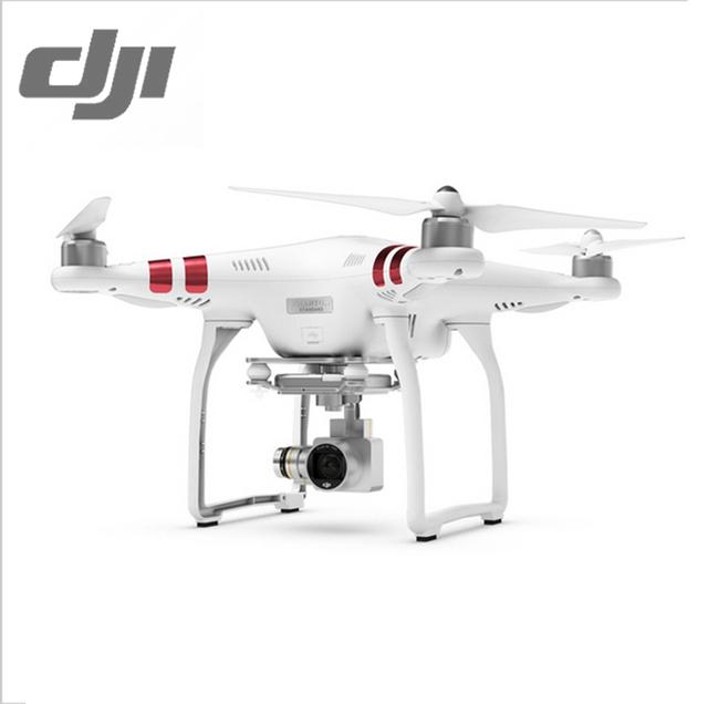 Dji phantom 3 estándar rc quadcopter helicóptero uav fpv aérea fotografía para Principiantes Listo para Volar w/2.7 K Cámara Rojo Phantom