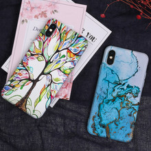 New Painted Print Phone Case For Xiaomi Redmi 7 3 S S2 Note 7 2 3 6 Silicone Back Cover for Xiaomi Mi 6 6X 5 Max 2 case cover(China)