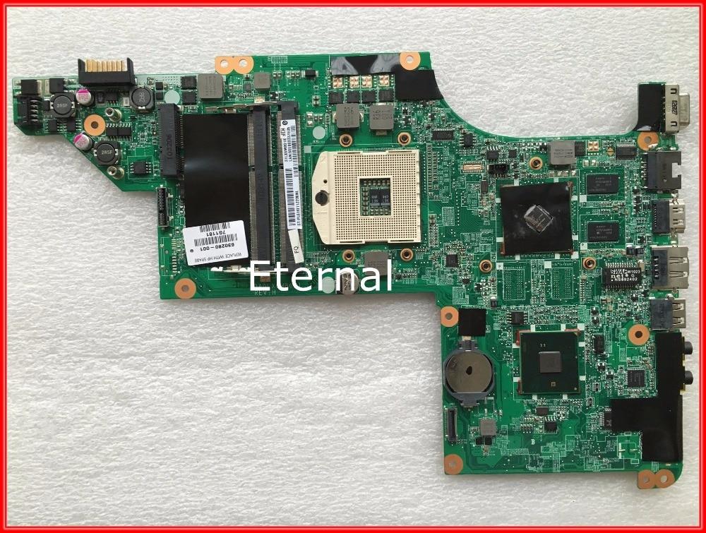 все цены на  For HP DV6 630280-001 Laptop Motherboard Mainboard Non-integrated DA0LX6MB6H1 REV:H 100% Tested  онлайн