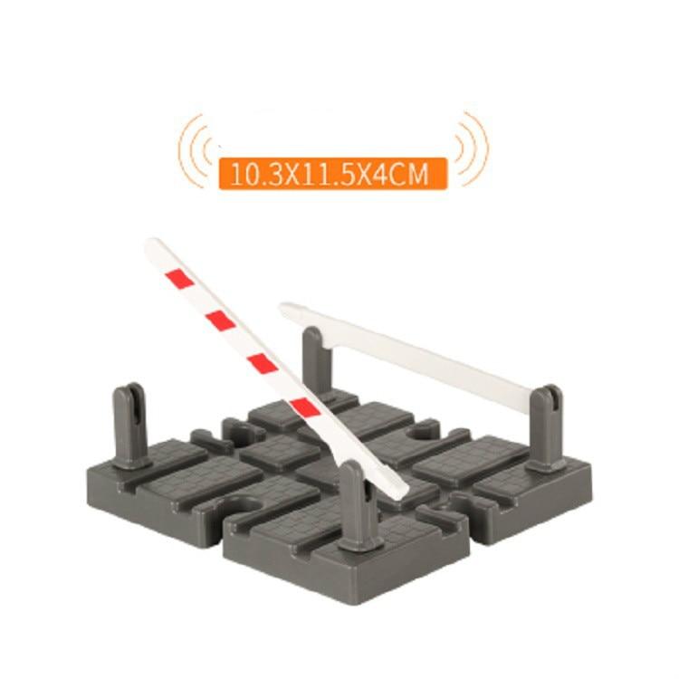 EDWONE Новые все виды деревянных дорожек части бука деревянная железная дорога железнодорожные пути игрушки аксессуары подходят Томас Биро деревянные дорожки - Цвет: Plastic Cross