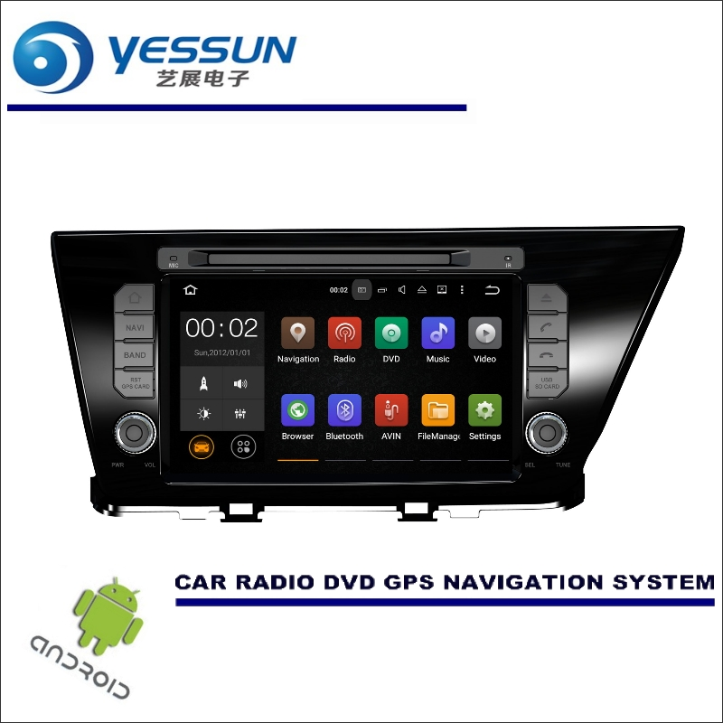 YESSUN Wince / Android Car Multimedia Navigation System For Kia Niro 2016~2017 LHD CD DVD GPS Player Navi Radio Stereo HD Screen yessun for mazda cx 5 2017 2018 android car navigation gps hd touch screen audio video radio stereo multimedia player no cd dvd