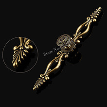 High Quality 20PCS European Vintage Door Drawer Pull Handle Knobs Retro Furniture Cabinet Dresser Cupboard Wardrobe Handles