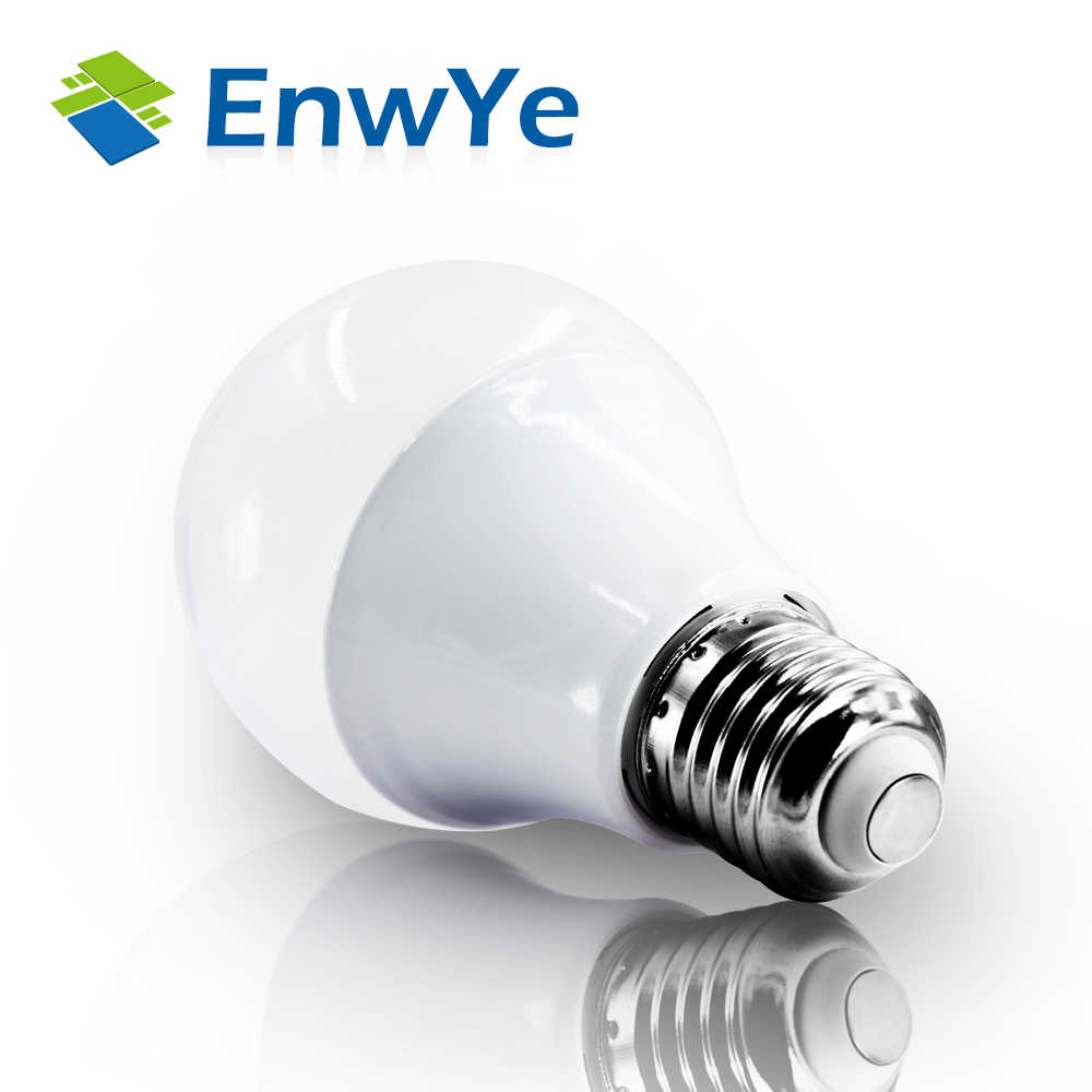20Pcs LED 3W 6W 9W 12W 15W 18W 20W 24W 220V E27 Lampu LED Bulb Smart IC Kekuatan Nyata Putih Dingin/Hangat Putih Lampu