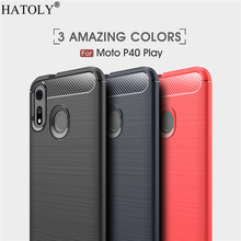 For Motorola Moto P40 Play Case for Moto P40 Play Soft Rubber Silicone Armor Phone Shell Phone Case for Motorola Moto P40 Play