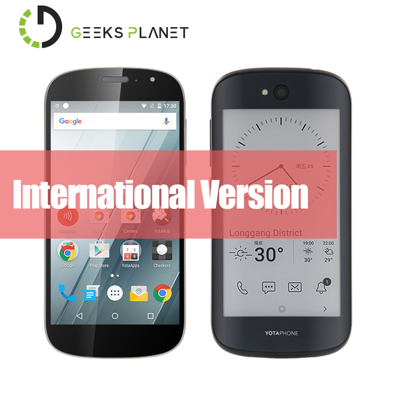 International Version YOTA YotaPhone 2 YD201 Qualcomm Snapdragon 800 5 0 Inch FHD Always on E