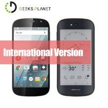 Versión internacional yota yotaphone 2 yd201 qualcomm snapdragon 800 5.0 pulgadas fhd siempre-on e-ink pantalla de nuevo 4g lte smartphone