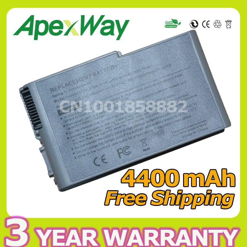 Apexway 11.1V Battery for Dell Latitude D500 D505 D510 D520 D530 D600 D610 for Precision M20 C1295 M9014 U1544 W1605 Y1338Apexway 11.1V Battery for Dell Latitude D500 D505 D510 D520 D530 D600 D610 for Precision M20 C1295 M9014 U1544 W1605 Y1338